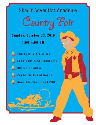 Country Fair Flyer