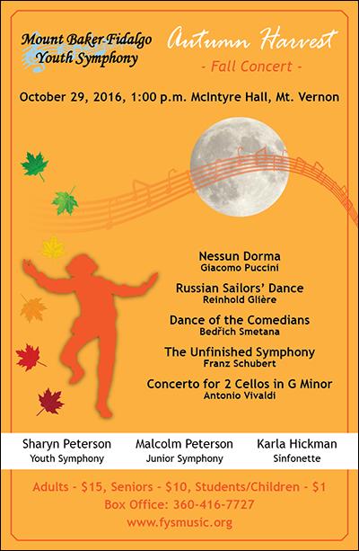 Autumn Concert Poster