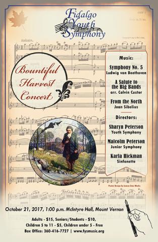 Harvest Concert Poster